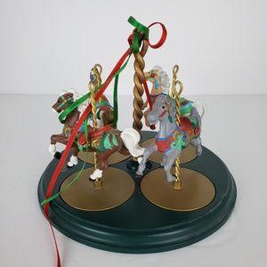 Hallmark Holiday - 1989 Hallmark Carousel Horses Collectors